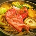 しゃぶ禅 - 仙台牛のすき焼き