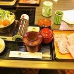 しゃぶ禅 - 仙台牛のすき焼き定食