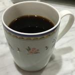 幸せのパンケーキ - コーヒー、350円。