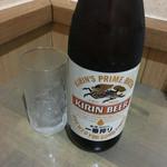 うなぎ屋 源内 - 瓶ビール