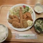 キッチンあおば - 料理写真:7種フライセット880円