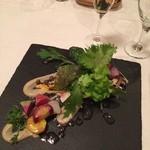 森の中のレストラン こどう - 地元野菜とバーニャカウダソース
