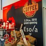 GORILLA COFFEE - プレオープンのディスプレイ
