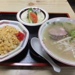 御食事処こわた - 料理写真:ラーメン定食です☆ 2016-0314訪問