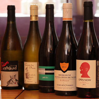 ワイン豊富☆リーズナブルな価格で本格ワインを楽しめます♪