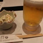 まる田 - 生とお通し H28.3