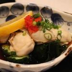 まる田 - 生がきポン酢 H28.3