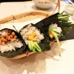 まる田 - 手巻き寿司 H28.3