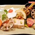 花の蔵 北川 - 特別コース前菜