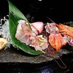 花の蔵 北川 - 季節の刺し盛り