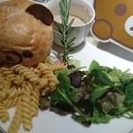 HARAJUKU BOX CAFE&SPACE - 新しいおともだち?リラックマとなかよしカルボナーラ