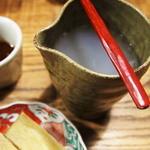そば切り 蔦屋 - 蕎麦湯