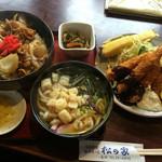 松の家 - 豚バラ丼スペシャル