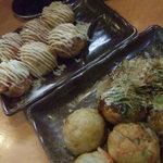 芋蛸 - エビマヨとスジネギ