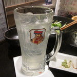 三浦鮮魚直売所 - レモンサワー