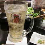 三浦鮮魚直売所 - ハイボール