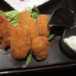 三浦鮮魚直売所 - 牡蠣フライ