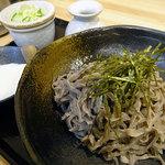 笑場庵 - 料理写真:山かけざるそば880円