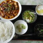 中国料理青龍 - 四川風麻婆豆腐