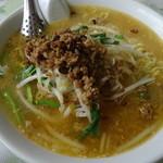 中国料理青龍 - 台湾みそラーメン(小辛)