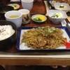 Tomikawaya - 料理写真:とみ川焼きそば定食
