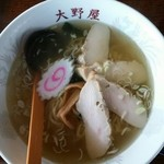 大野屋ドライブイン - 料理写真: