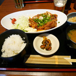 48945236 - 2016/3/19  油淋鶏定食