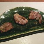 48945741 - 地鶏熟成肉の焼霜
