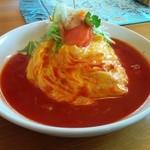 パパズキッチン - 料理写真:トマトソースのオムライス