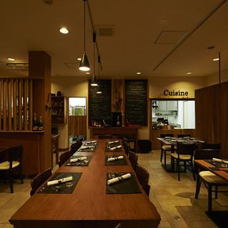 駅徒歩1分団体35名様までOK鎌倉のフランス空間はここ!