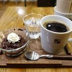 ブラックウェル コーヒー - コーヒーぜんざい、アフリカ