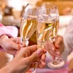ブラッセリー 「フローラ」 - ドリンク写真:お祝いにも!
