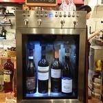 イタリア料理 LEGAMENTO - 【H28.3.21】ワインサーバー♪ 現在、群馬では此方だけ!