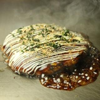 大和芋を使ったお好み焼きはふんわり絶品♪