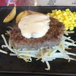 グリルキッチン せんごく - ステーキハンバーグ150g
