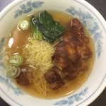 隆昌 - 排骨麺950円