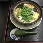 さわ荘うどん - 鍋焼きうどん600円