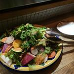 48957669 - 野菜のサラダ