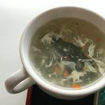 ブラックバッカラ - スープ