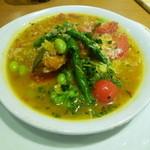 ココス - 十三穀米の野菜リゾット。