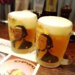 鶏そば十番156 - 生ビール 650円