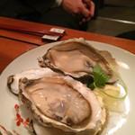 48960940 - 生牡蠣:大きい!