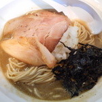 濃麺 海月 - 煮干濃麺HV(平子・鯵・白口)800円