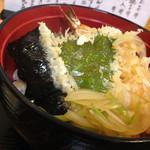 うどん棒 - 天丼(770円)を頂きました。
