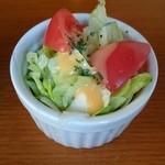 カフェ・ドゥ・トワ - セットのサラダ