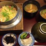 いま井 - カニ釜飯