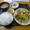 Michikusa - 料理写真:肉と野菜のみそ炒め定食800円。