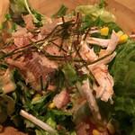 霧島屋 - 蒸し鶏と豆腐のサラダ