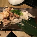 48969713 - 炙り鶏皮ポン酢