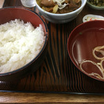 赤坂あべちゃん - ライスとお吸い物